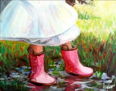 View our painting classes calendar to paint and drink wine in Painting with a Twist in Farmington MI. Wood Canvas, Diy Canvas, Canvas Art, Canvas Paintings, Canvas Ideas, Girl In Rain, Paint And Drink, Painting People, Paint Party