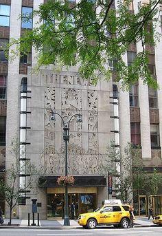 Daily News Building, New York City