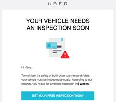 How to Find Free Vehicle Inspections For Uber and Lyft Drivers