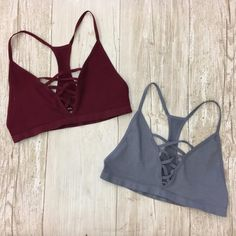 Your favorite bralettes are back! Available in XS/S or M/L and...