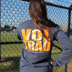 The newest Volunteer Traditions long sleeve tee
