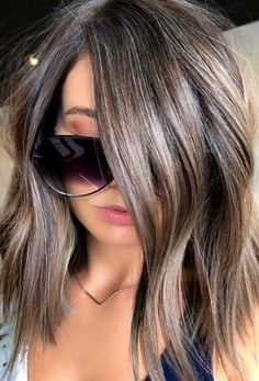 Brunette hair color, Medium hair styles, Hair color, Hair, Hair color Fall hair - 60 Best of Balayage Hair Colors Ever to Try in 2018 - Brunette Color, Ombre Hair Color, Hair Color Balayage, Brown Hair Colors, Cool Hair Color, Haircolor, Ash Brunette, Balayage Hair Brunette Medium, Grey Brown Hair
