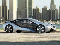 BMW i8 Concept - und er wird jetzt tatsächlich fast genauso gebaut! Ein großes Lob an die Entwickler von BMW :)