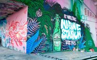 Heineken and its agency Publicis New York developed a video explaining the project and ending with a slate card to direct viewers to the Heineken website. The Stadium was abandoned more than two decades ago after Hurricane Andrew and has become a canvas for graffiti artists.
