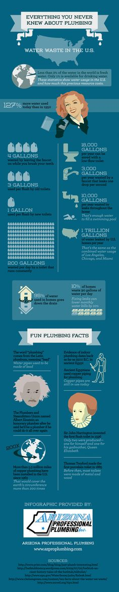 Everything you never knew about plumbing.