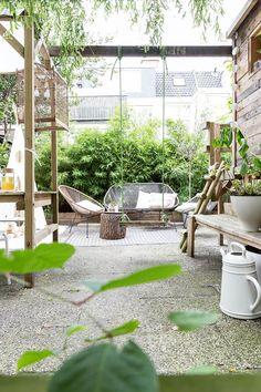 Ideas For Backyard Ideas Patio Pergola Patio Chico, Landscape Design, Garden Design, Urban Landscape, Nature Color Palette, Rooftop Garden, Balcony Garden, Amazing Gardens, Backyard Landscaping