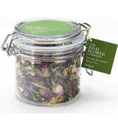 THE REAL FLOWER COMPANY - Jasmine rosebud blend loose tea | Selfridges.com