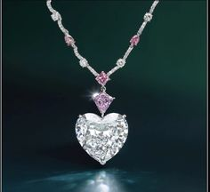 Pink Diamond Necklaces, Diamond Pendant Necklace, Gemstone Necklace, Diamond Jewelry, Antique Jewelry, Vintage Jewelry, Diamond Dreams, Soldering Jewelry, Jewellery Sketches