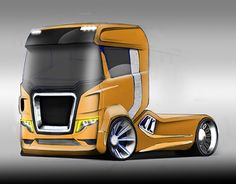 """Check out new work on my @Behance portfolio: """"truck"""" http://be.net/gallery/54897865/truck"""