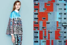 Fashion Photos Matched Perfectly with Artistic Images - My Modern Metropolis