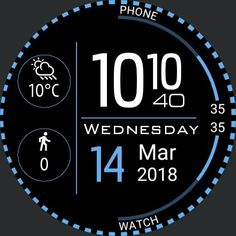 Watch Faces, Calm, Watches, Wristwatches, Clock