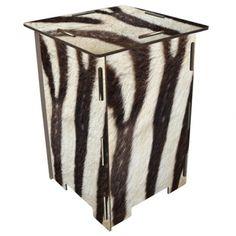 """Werkhaus Shop - Photohocker - 224 """"Zebra"""""""