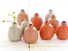 Heath Ceramics, again thanks for enlightening us Design*Sponge!  Amazing and I'm OBSESSED with these colors!
