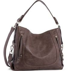 9b9d204d76ce Shoulder Leather Handbags Top Handle - Black Chestnut - CE183Y7U7LT. Leather  Hobo HandbagsPurses ...