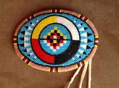 Truly unique in every aspect. Native Beading Patterns, Beadwork Designs, Seed Bead Patterns, Loom Patterns, Indian Beadwork, Native Beadwork, Native American Beadwork, Native American Crafts, Native American Design