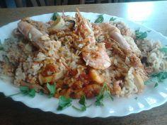 ρυζότο με γαρίδες!!!!