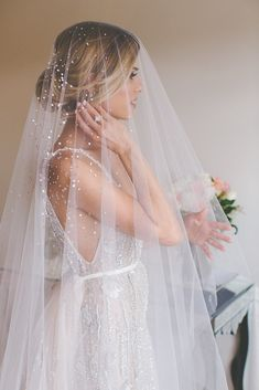 Long, Short and Everything in Between: 23 Wedding-Ready Veils in Every Style. There is something so magical about putting on a veil. For many brides, this is the moment when it finally clicks that the wedding is really happening and they're not just playing dress-up in a gorgeous gown.