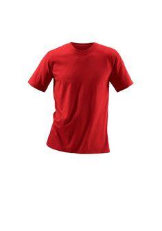 Maier Sports Rundhalsshirt (3 Stck.) »Cotton made in Africa« rot