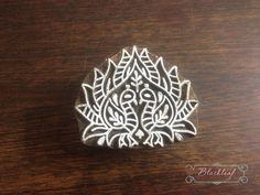 Wood Block Printing Hand Carved Indian Wood by BlackleafArt {buying this and making some pillows}