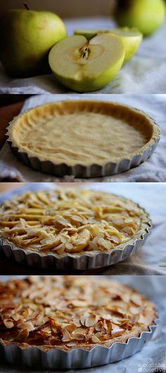 Bavarian apple-almond Torte