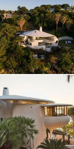 Hillside Home Designed by John Covert Waston Located in Lakeway