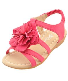 """Rya Girls """"Tropical Delivery"""" Sandals (Toddler Sizes 5 – 10) - CookiesKids.com"""