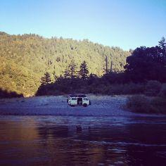 van-life:    Model: VW T3 Syncro  Location: Trinity County, CA  Photo: Foster Huntington