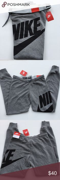Nike Rally Tight Exploded Sweatpants PLZ READ THE COMPLETE DESCRIPTION BEFORE COMMENTING! Thank u! NWT Size: M Retail: $50 Women's , tight fit Color may be slightly different bcz of lighting Price is FIRM unless bundled! ❌Trades ❌Holds All sales r final Welcome product-related questions! Ur responsible for ur size. Nike Pants
