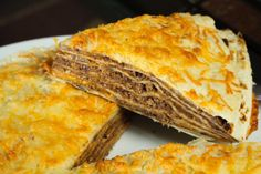 Layered Taco Casserole is easy to make but delicious to share.