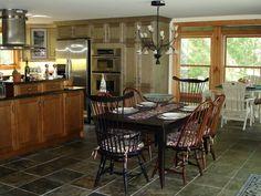 Muskoka cottage kitchen.