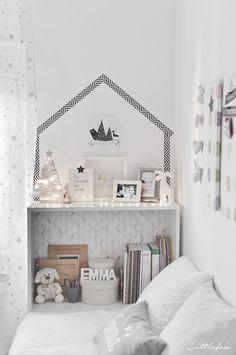 Littlefew Blog: Christmas details for my babyroom. More pics: http://littlefew.blogspot.com.es/2015/11/quedamos-en-una-habitacion-infantil.html