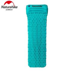 Naturehike Outdoor Camping Mat Tent Bed TPU Inflatable Air Mattress 1 Person Sleeping Pad Airbed with Pillow Camping