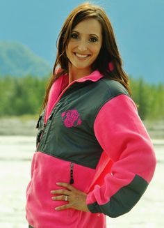 Polar Fleece Jacket from Alaska Chicks Company. Comes in three colors!