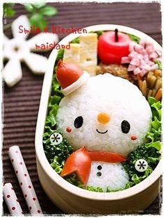 Christmas♥ bento