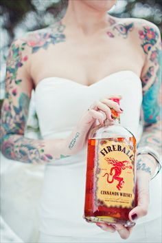 I <3 fireball. and tatted brides