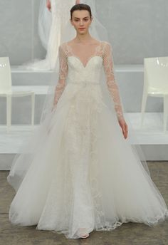 Monique Lhuillier Spring 2015 Wedding Gown Collection