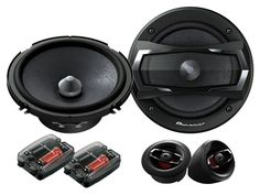 Black Friday Pioneer TS Series Component Car Speakers System from Pioneer Speaker Kits, Speaker System, Audio System, Honda Civic Parts, Component Speakers, Audiophile, Car Audio, Packaging, Electronics