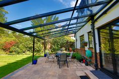 Highly experienced specialists in installing stunning Glass Rooms, Glass Extensions, Verandas, Awnings, Carports and Garden Rooms to suit every style of home.