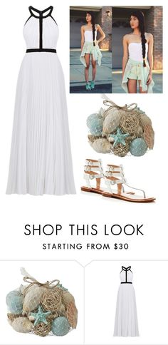 """gladiator style?"" by alda-naura ❤ liked on Polyvore featuring Pier 1 Imports, Nicole Miller and French Connection"