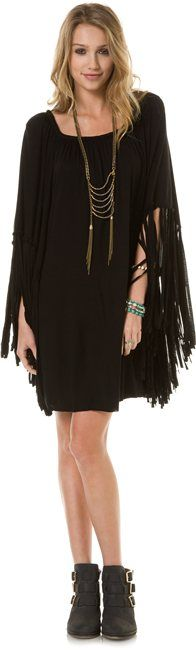 INDAH ADARA FRINGE HIPPIE TUNIC > Womens > Clothing > Dresses | Swell.com