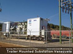 TRAILER MOUNTED SUBSTATION VENEZUELA