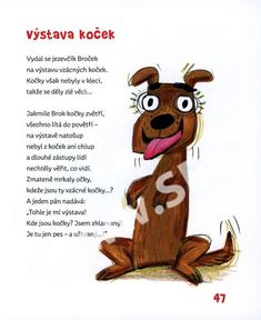 Pes nám spadla - Bláznivé básničky - Miloš Kratochvíl - SEVT Diy For Kids, Tigger, Scooby Doo, Disney Characters, Fictional Characters, Poems, Children, School, Study