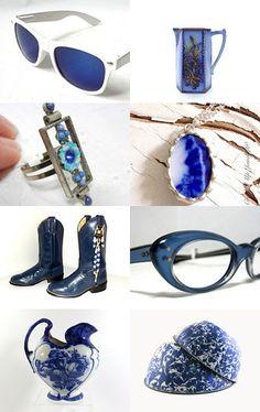 Flow Blue Vestiesteam by Judy on Etsy--Pinned with TreasuryPin.com #vestiesteam #blue #ssps #vesteam #vintage
