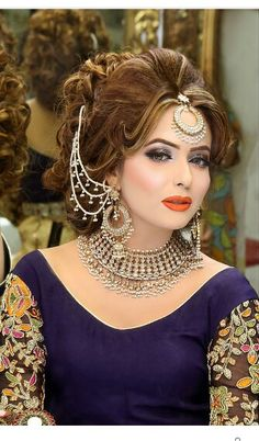 Awsome Bridal Makeup To Update Your Work Wardrobe Bridal Makeup Looks, Bridal Beauty, Bridal Looks, Bridal Hair, Wedding Makeup, Pakistani Bridal Makeup, Pakistani Wedding Outfits, Wedding Looks, Wedding Bride