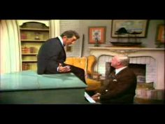 From The Dean Martin Show - an off-the-cuff of jokes and a rendition of April Showers with pianist Ken Lane.