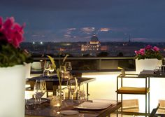View of Rome from Sofitel Rome Villa Borghese meeting & congress center, Rome (Italy)