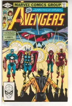 Avengers #217 Yellowjacket - I remember reading this when it first came out and it kinda messed me up that one of the Avengers was a wife beater