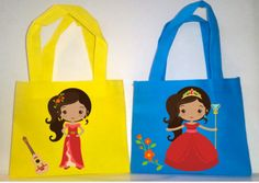"""Princess Elena, 15 Princess Elena Favor Bags, Party Favors bags , 6""""Hx7""""W by picturesweet on Etsy"""