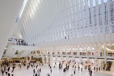 apple store designed by bohlin cywinski jackson opens in the world trade center oculus