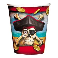Pirate Bounty Paper Cup 9oz 8ct